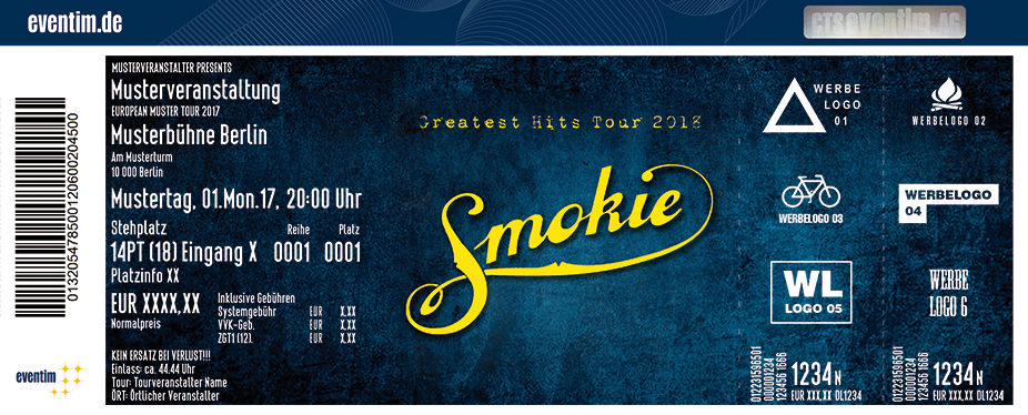smokie ticket