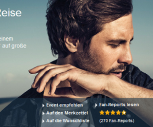 Max Giesinger Tour – Tickets