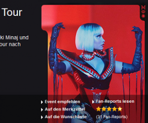 Nicki Minaj Tour – Tickets