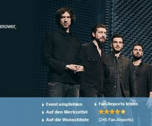 Snow Patrol Tour – Tickets